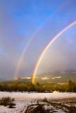 winter rainbow, Pucker Huddle