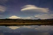 Moonlit Lenticular Clouds 2