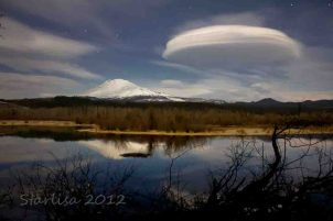 Moonlit Lenticular Clouds 6