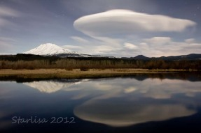Moonlit Lenticular Clouds 1