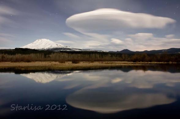 Moonlit Lenticular Clouds 1