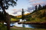 Sunrise Camping on the Klickitat River