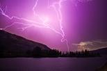 Sunrise Thunderstorm at Bingen Point