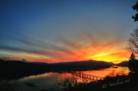 February 2, 2013 from White Salmon, WA
