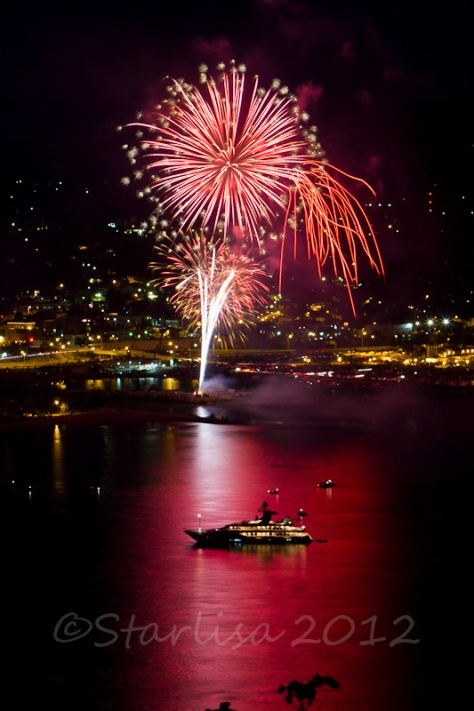 2012 Fireworks over Hood River, Oregon