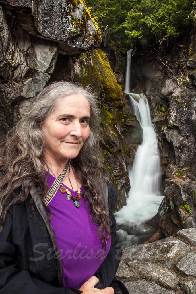Starlisa Black Photography: The Photographer, Darlisa Black, at Christine Falls