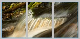 goldenFalls triptych - Copy