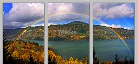GorgeRainbow triptych - Copy