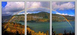 GorgeRainbow triptych - Copy