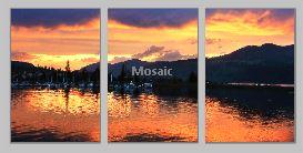 HoodRiversunset triptych - Copy
