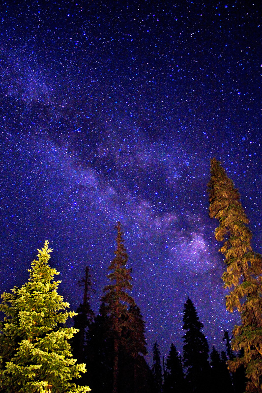 Milky Way from Mosquito Lake