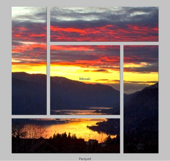 Parquet Triptych