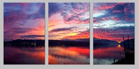 Sunset triptych - Copy