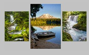 Takhlakh_waterfalls ClassicTriptych