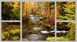 TroutCreekAutumn Timeless-triptych - Copy