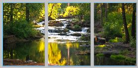 TroutCreeksummer triptych - Copy
