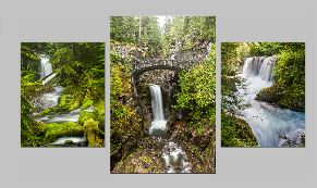 Waterfalls ClassicTriptych