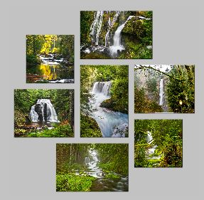 Waterfalls FlagstoneTriptych - Copy