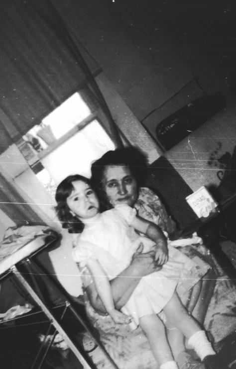 Mom and me....