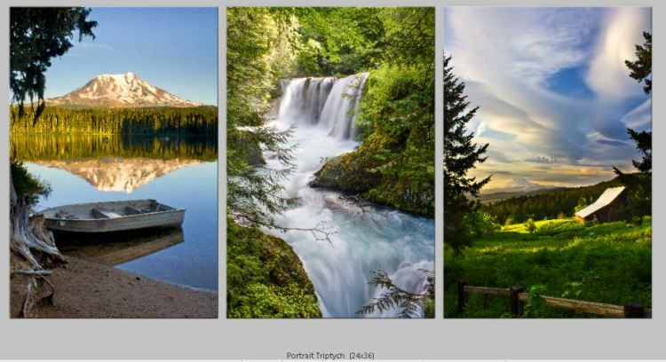 PortraitTriptych-waterfall_mountains