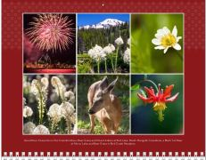 July page of the Mount Adams and Gorge 2014 calendar.