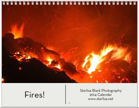 Fire calendar Cover