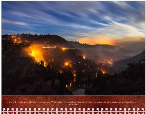 Fire Calendar  February