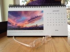 Desk Calendar January