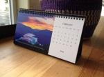 Desk Calendar.