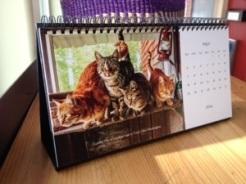 Desk Calendar May