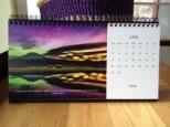 Desk Calendar June