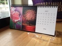 Desk Calendar July
