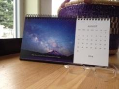Desk Calendar August