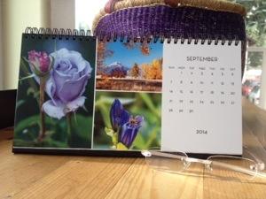 Desk Calendar September