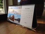 Desk Calendar December