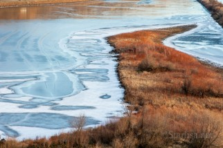 Chamberlain Lake with Ice