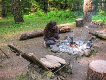 this campfire happened in this spot for generations