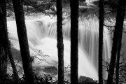 Peek a boo of Lower Falls
