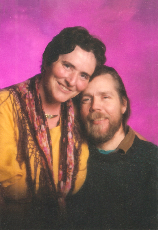 Myself and husband David Reel in about 1994-96.  He passed away  on January 16, 1996. Clicking on this image will take you to a previous post of memories.