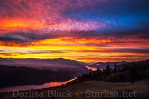 """Glory Above"" Columbia River Gorge National Scenic Area, Columbia River Gorge,"