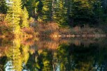 Surprise Lakes Fall Reflections