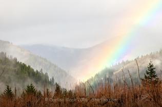 White Salmon River Valley near Buck Creek. 12-09-2015