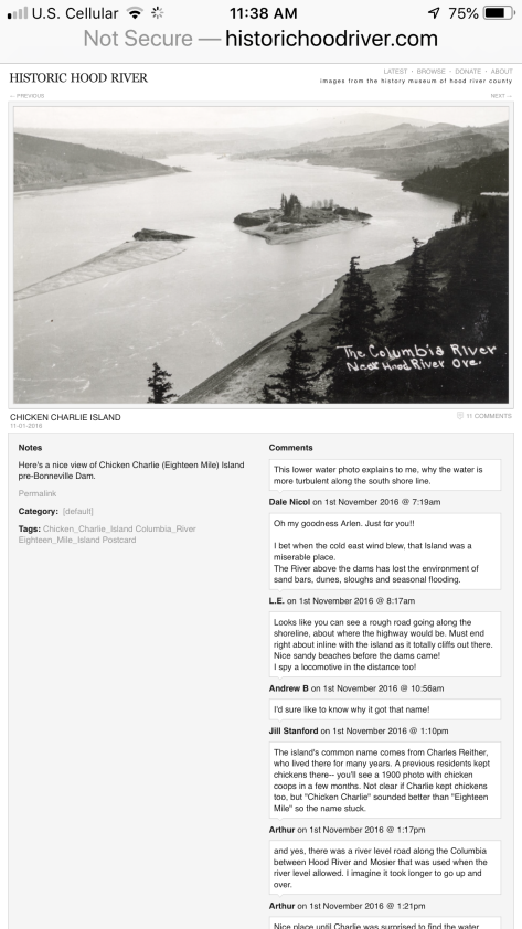This photo is a screenshot from the Historic Hood River website